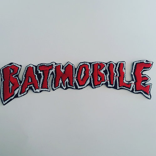 Batmobile Embroidered Logo Badge