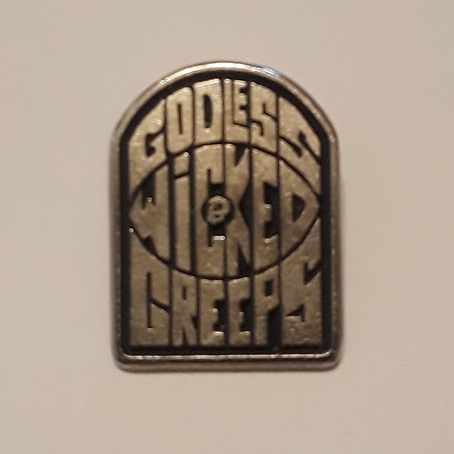 Godless Wicked Creeps pin