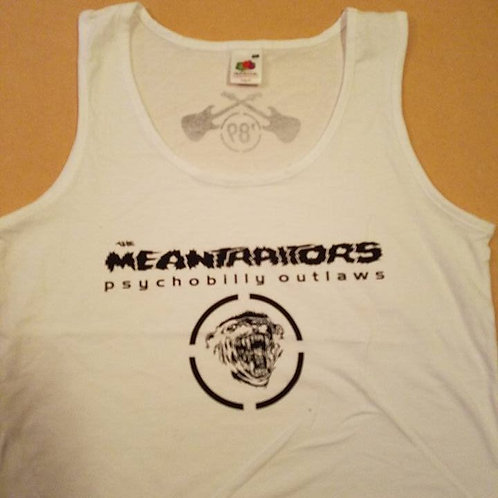 Meantraitors Girls Tank Top White