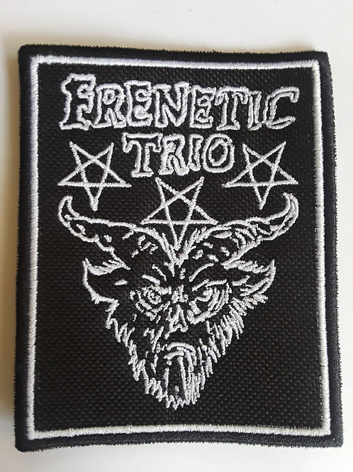 Frenetic Trio Embroidered Badge