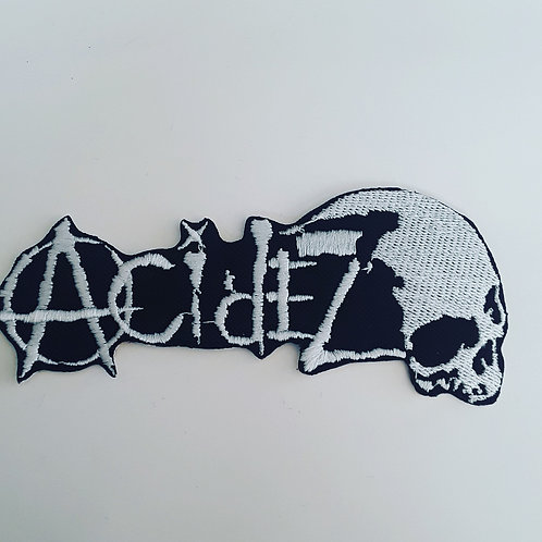 Acidez Embroidered Badge
