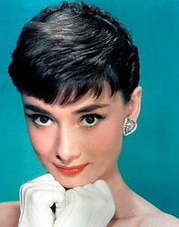 Audrey Hepburn had a lucky rabbit figuri