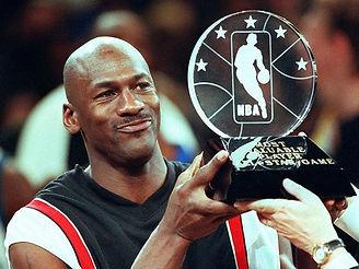 Michael Jordan wore an extra pair of sho