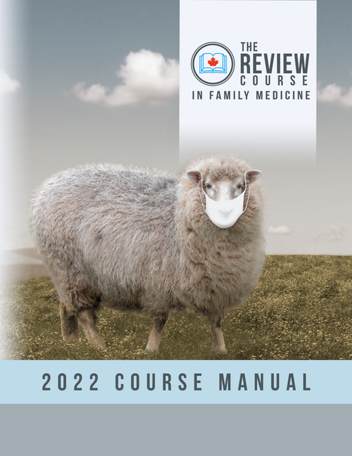 The Review Course 2022 Course Manual (e-book only)