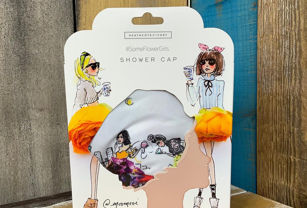 Flower Girl Shower Cap