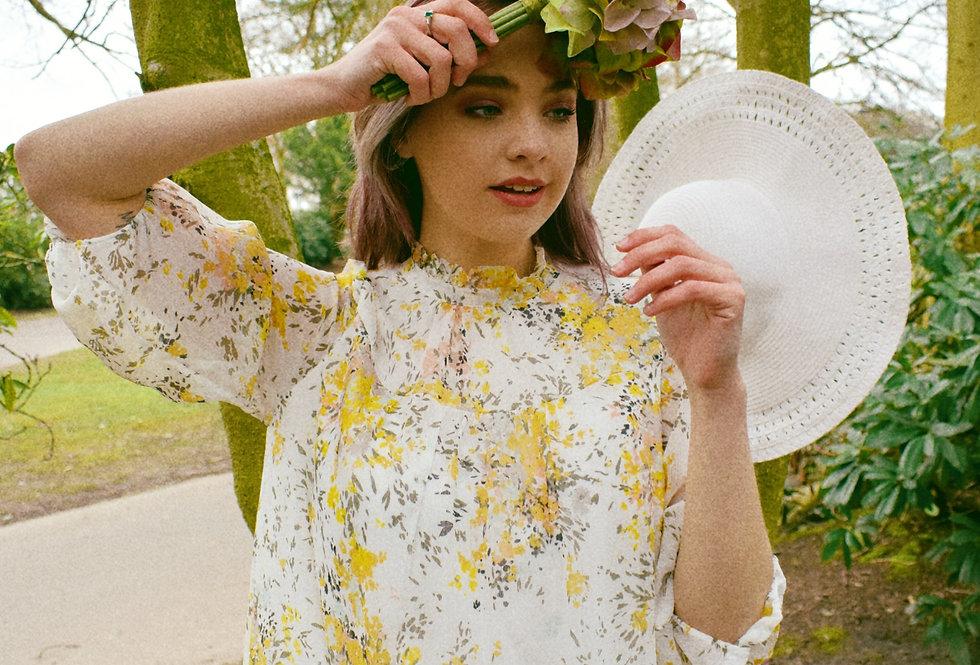 Saint Tropez Yellow Floral Dress   Womens Dresses   Shop Moulina Online or at our Boutique!   View 1
