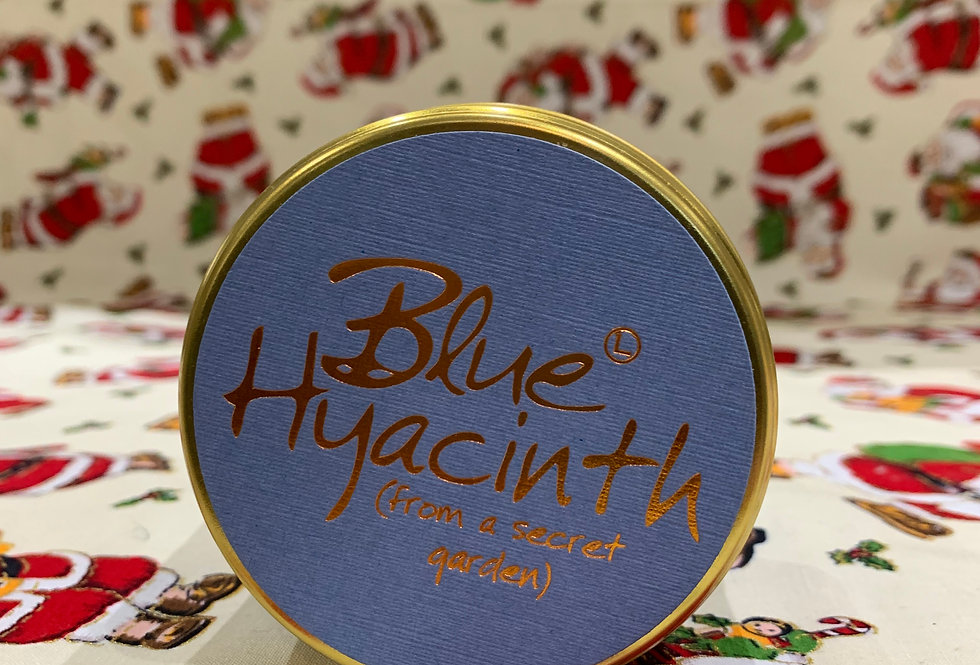 Lily Flame Blue Hyacinth Candle
