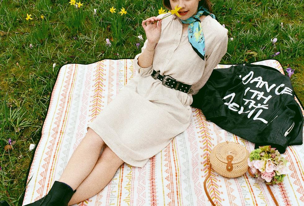 Saint Tropez Cream Linen Dress   Womens Dresses   Shop Moulina Online or at our Boutique!   View 1