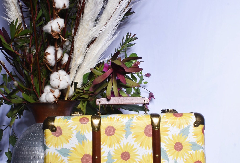 Small Sunflower Suitcase | Gifts | Ladies Boutique and Giftware | Moulina