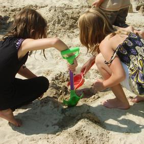 Querxenland - Spielen im Sand