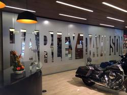 Ganzglasanlage als Büroabtrennung