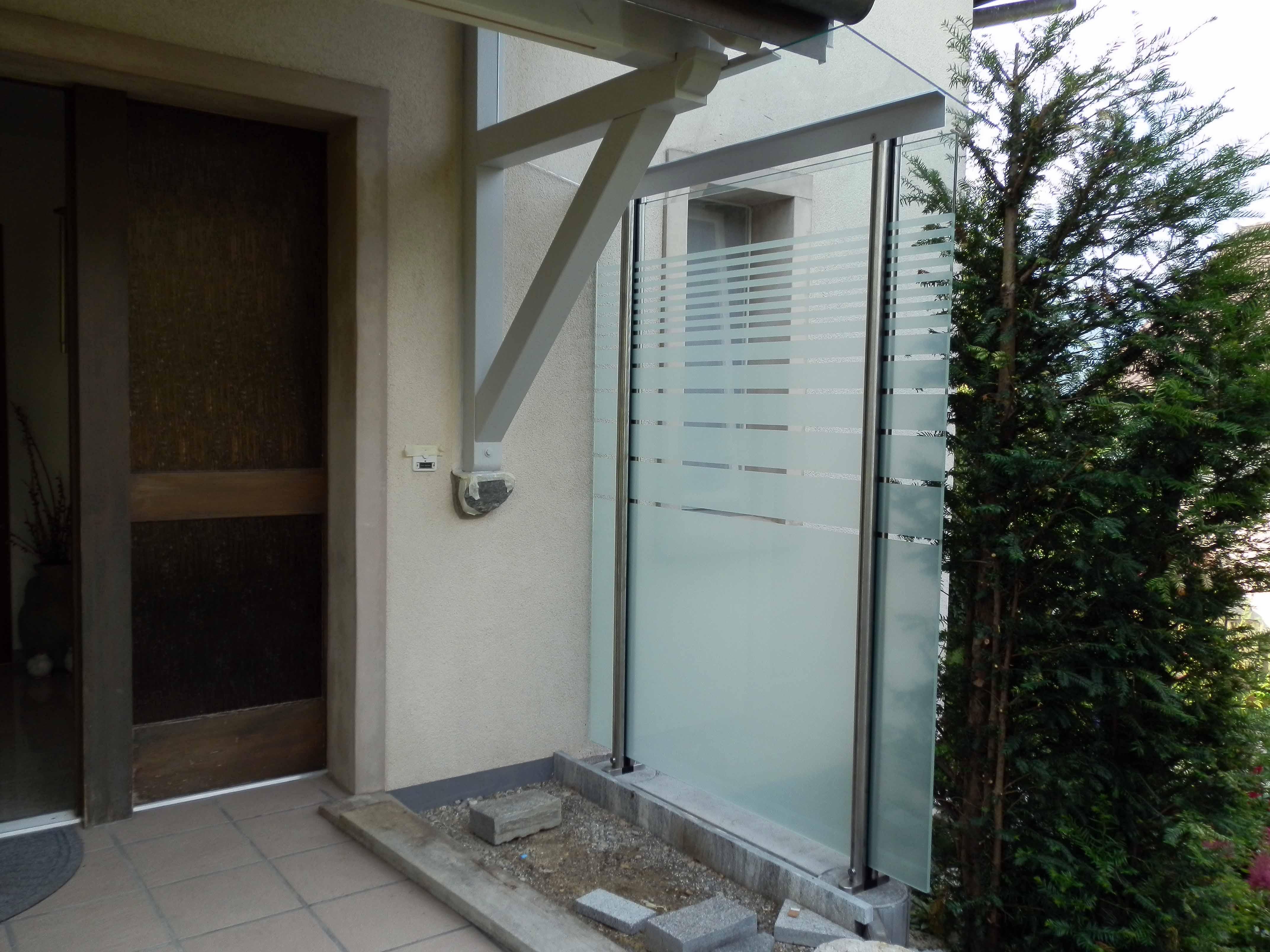 Strahm Glastech   Wetterschutz & Sichtschutz