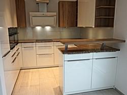 elegante Küchenrückwand