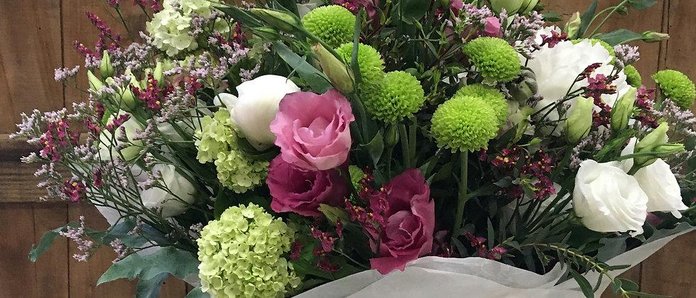 Ram de flor fresca de temporada
