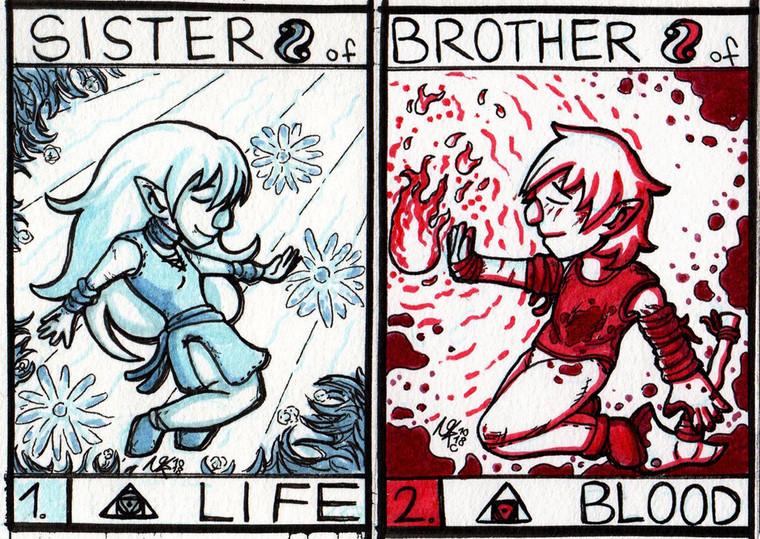 Schwester & Bruder