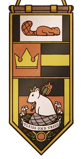Banner der Schwarzen Königin