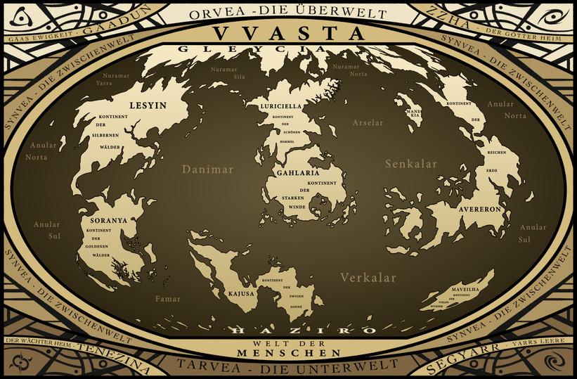 Die Welt Vvasta (Fantasy)