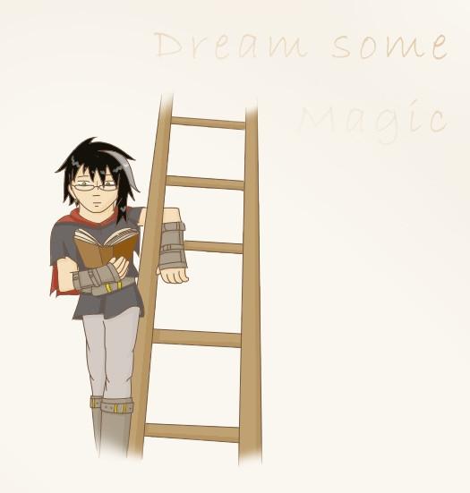 Trigon mit Leiter