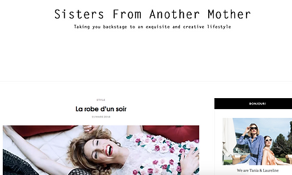 Sisters from another mother en photo pour Style Story