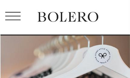 Article sur Bolero pour Style Story