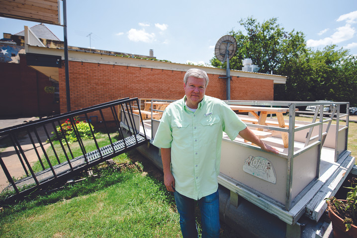 Restaurant's plans in dry dock for time being