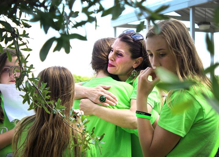 Family, classmates gather for dedication