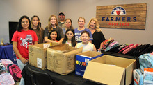 380 Rotary collects backpacks, supplies
