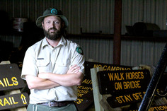 Lead ranger has been in parks his whole life