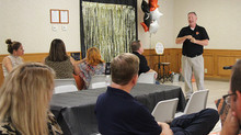 Southard speaks to Chamber