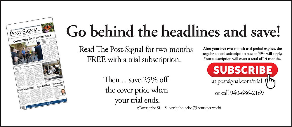 Post Signal Trial Ad
