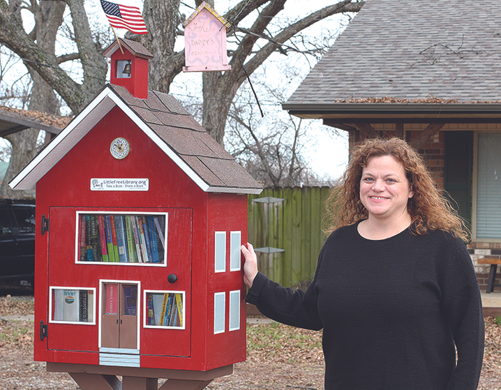 Little Free Library open to all
