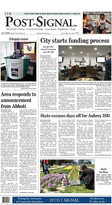 Post Signal News Paper March 5, 2021
