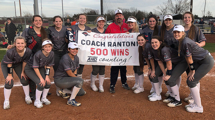 Ranton reaches 500-win milestone