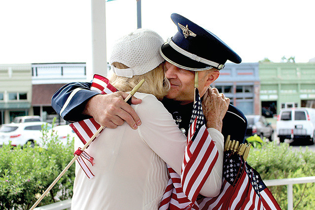 Ceremony honors those who serve