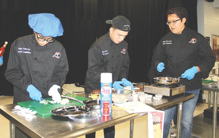 The art of cooking: PPHS culinary arts teams battle for supremacy