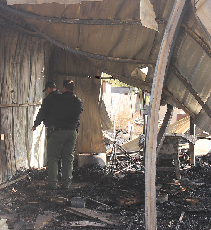 Fire ruins family's holiday