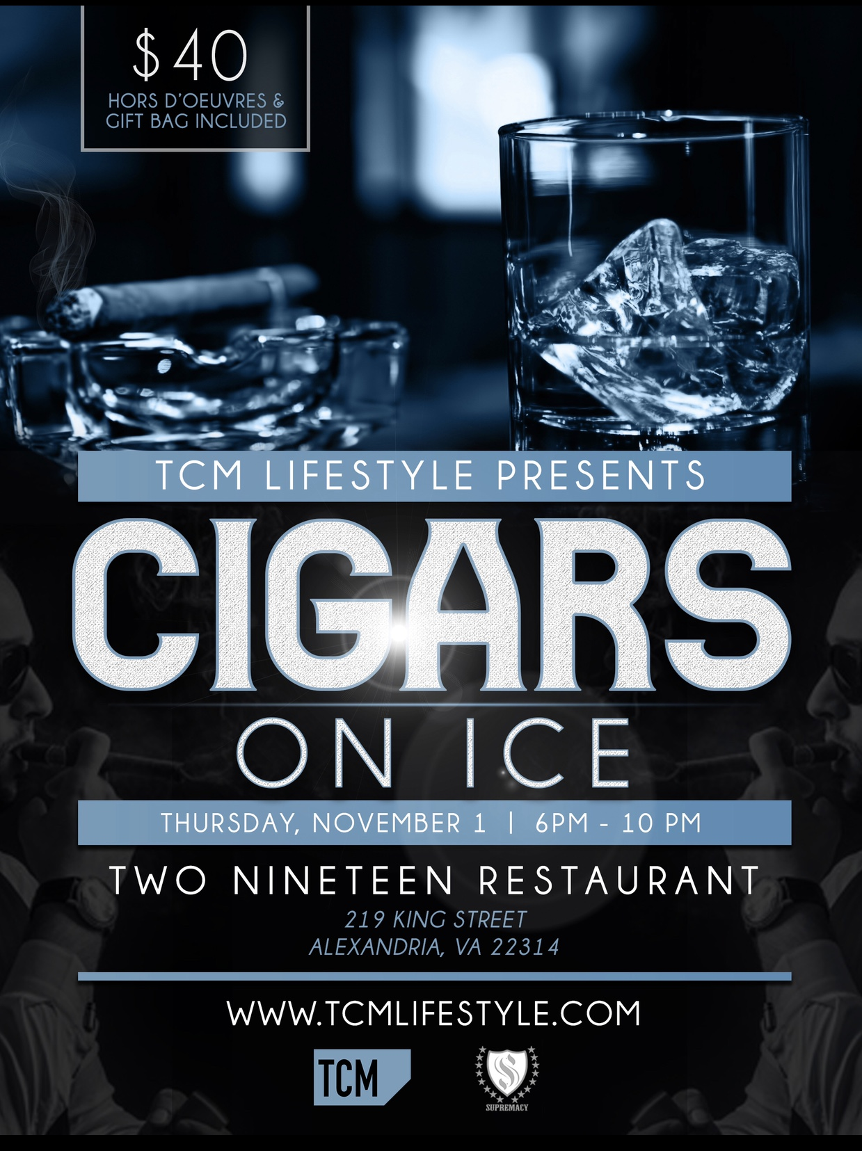 cigars on ice