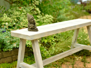 【Garden Bench】