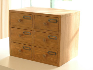 【6 Drawers Table Top Cabinet】