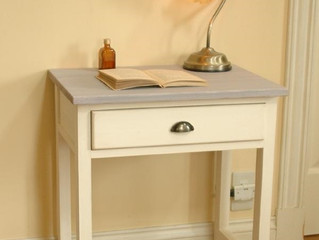 【 Console Table  Milky white 】