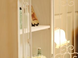 【 Display shelf -white- 】