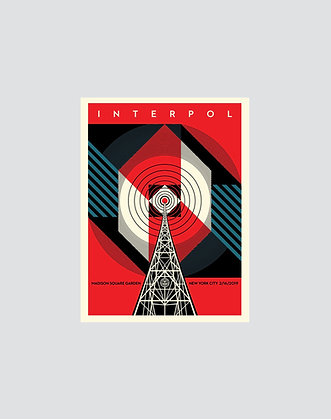 OBEY | Interpol NYC Calling