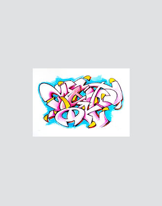 Mist | sketch - hand finished