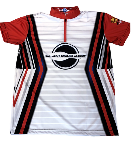 BBA Jersey - White Striped