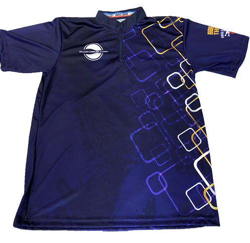 BBA Jersey - Blue / Purple Print