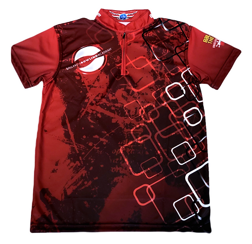 BBA Jersey - Red Diamond Print