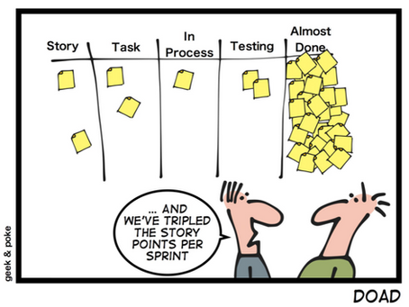 From Agile to agility… time to stop talking about points and sprints