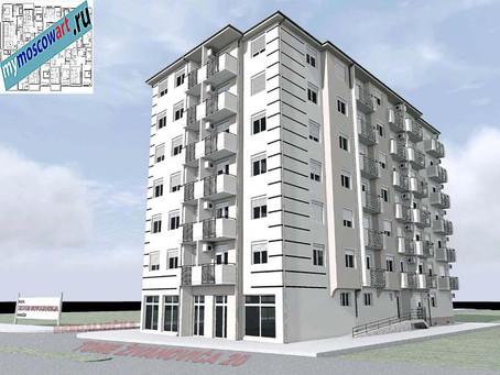 Проект здания - Йоцич