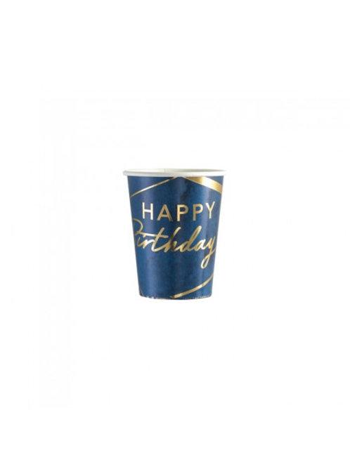Bicchiere 250cc BIRTHDAY BLUE 8 PZ
