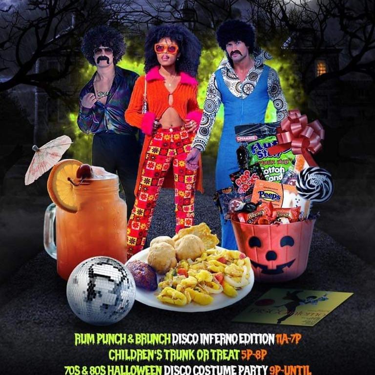 Rum Punch & Brunch: Disco Inferno Costume Edition